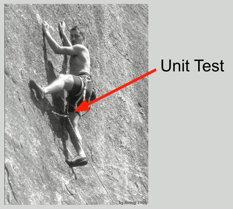 Les tests unitaires c'est l'assurance de ne pas tomber